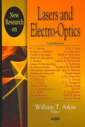 New Research on Lasers and Electro-optics