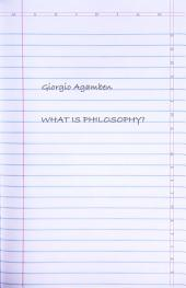 What Is Philosophy?