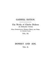 Dealings with the Firm of Dombey and Son, Vol. II ~ Paperbound