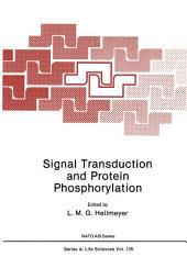 Signal Transduction and Protein Phosphorylation
