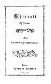 Thiodolf the Icelander, A Romance