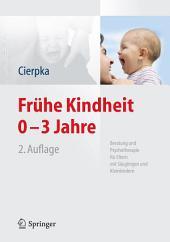Frühe Kindheit 0-3 Jahre: Beratung und Psychotherapie für Eltern mit Säuglingen und Kleinkindern