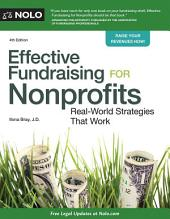 Effective Fundraising for Nonprofits: Real-World Strategies That Work, Edition 4