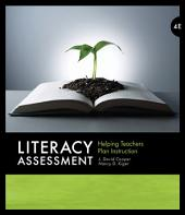 Literacy Assessment: Helping Teachers Plan Instruction: Edition 4