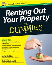 Renting Out Your Property For Dummies: Edition 3