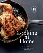 Williams-Sonoma Cooking at Home: More than 1,000 classic and modern recipes for every mal of the day