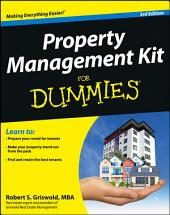 Property Management Kit For Dummies: Edition 3