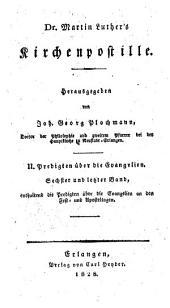 Sämmtliche Werke: nach den ältesten Ausgaben, Band 15