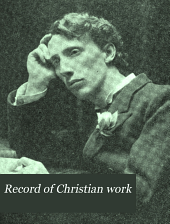 Record of Christian Work: Volume 20