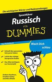 Sprachfhrer Russisch fr Dummies Das Pocketbuch