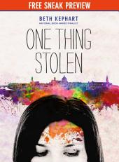 One Thing Stolen (Sneak Preview)
