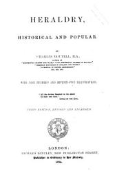 Heraldry, Historical and Popular by Charles Boutell, M.A