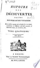 Histoire des decouvertes faites par divers savans voyageurs: dans ...