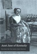 aunt jane of kentuckyeliza calvert hall  eliza caroline calvert obenchain