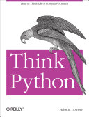 Find Think Python: How to think Like a Computer Scientist at Google Books