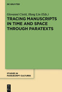 Find Tracing Manuscripts in Time and Space through Paratexts at Google Books