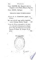 Mémoires historiques sur les templiers, ou, Eclaircissemen ...