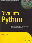 Find Dive Into Python at Google Books