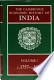 The Cambridge Economic History of India: Vol. 2: C. 1757 - C. 1970
