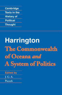 Find The commonwealth of Oceana ; and, A system of politics at Google Books