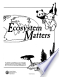 Ecosystem Matters: Activity and Resource Guide for Environmental ...