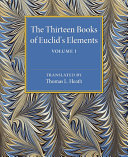 Find The Thirteen Books of Euclid's Elements at Google Books