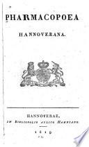 Pharmacopoea hannoverana