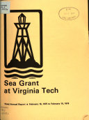Sea Grant at Virginia Tech: Annual Report