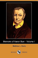 Find Memoirs of Aaron Burr at Google Books