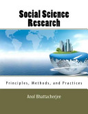 Find Social Science Research: Principles, Methods, and Practices at Google Books