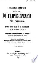 Nouvelle méthode de traitement de l'empoisonnement par l'arsenic ...