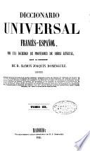 Diccionario Universal Francés-Español, Español-Francés: ...