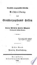 Statistisch-topographisch-historische Beschreibung des ...