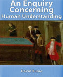 Find An Enquiry Concerning Human Understanding at Google Books