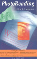 Find The PhotoReading Whole Mind System at Google Books