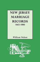Find New Jersey Marriage Records, 1665-1800 at Google Books