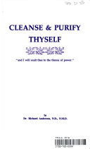 Find Cleanse & Purify Thyself at Google Books