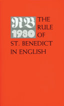 Excerpts from the Holy Rule of Saint Benedict