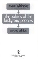Find THE POLITICS OF THE BUDGETARY PROCESS at Google Books