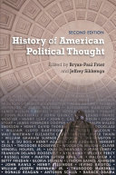 Find History of American Political Thought at Google Books