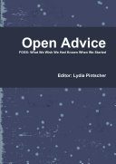 Find Open Advice. FOSS; What We Wish We Had Known When We Started at Google Books