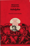 Find Adolphe at Google Books