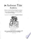 Academia: Eiusd. in Academicum Ciceronis fragmentum explicatio : ...