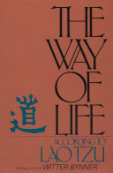 Find The Way of Life According to Laotzu at Google Books