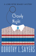 Find Gaudy Night at Google Books