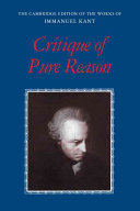 Find Critique of pure reason at Google Books