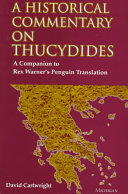 Find A Historical Commentary on Thucydides at Google Books