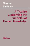 Find A Treatise Concerning the Principles of Human Knowledge ... at Google Books